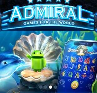 Адмирал – стабильное казино с азартными играми